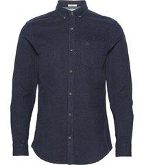 slim fit corduroy shirt skjorta casual blå original penguin