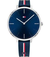 reloj azul tommy hilfiger