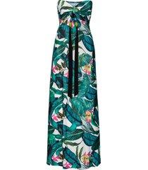 abito lungo (verde) - bodyflirt boutique