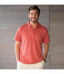 progressive polo shirt