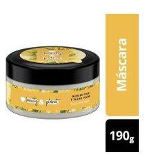 máscara de tratamento hope and repair óleo de coco & ylang ylang love beauty and planet pote 190g