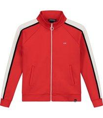 nik & nik vest nn track jacket rood