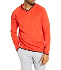 men's cutter & buck traverse hoodie, size xxx-large - red