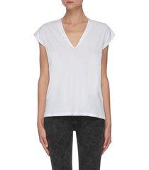 le mid rise' v-neck t-shirt