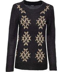 maglione glitterato (nero) - bodyflirt