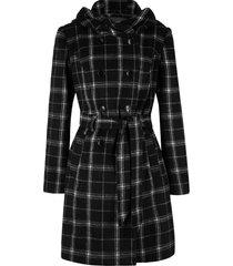 cappotto corto a quadri (nero) - bpc bonprix collection