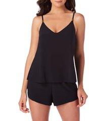 women's magicsuit mila one-piece romper swimsuit, size 10 - black