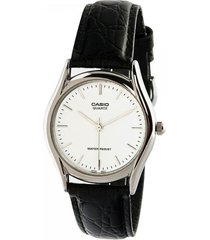 reloj casio mtp_1094e_7a negro cuero