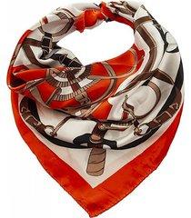 pañuelo rojo bohemia estampado