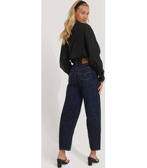 levi's jeans med hög midja - blue