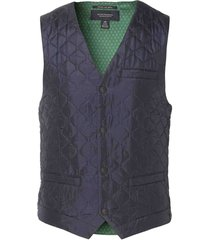 scotch & soda gilet- slim fit - blauw
