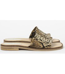 sandalia animal print heyas cancun