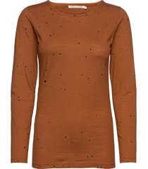 philipa t-shirts & tops long-sleeved bruin rabens sal r