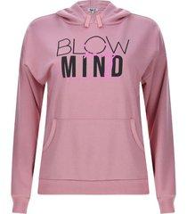 buzo mujer blow mind color rosado, talla s