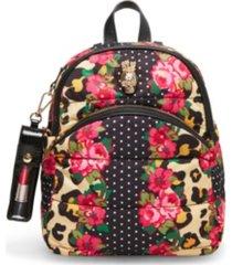 betsey johnson pretty puffer midi backpack