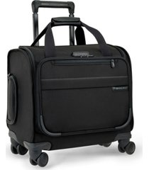 briggs & riley baseline cabin softside carry-on spinner