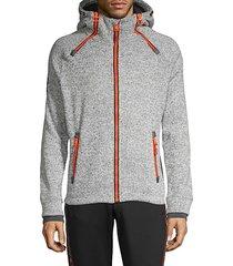 raglan-sleeve hooded jacket