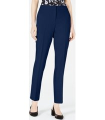 bar iii bi-stretch straight-leg pants, created for macy's