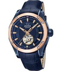 reloj automatic azul jaguar