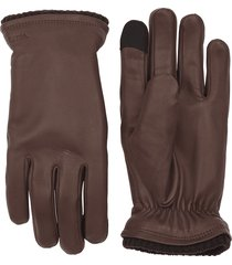 hestra brown john gloves |brown| 23570-750