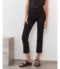 pantalón negro desiderata vintage straight