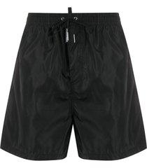dsquared2 short de natação preto
