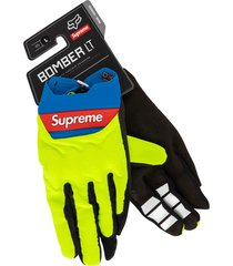 supreme fox racing bomber lt gloves - green