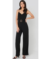 sisters point galma jumpsuit - black
