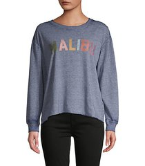 burnout pullover