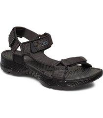 mens gowalk outdoors shoes summer shoes sandals svart skechers