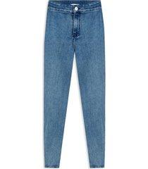 jean mujer pitillo color azul, talla 10