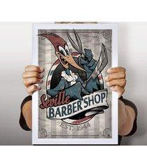 poster barbeiro de seville
