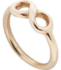 anillo con motivo infinit poncio pilato