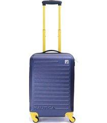 maleta tide beach azul amarillo 20 nautica
