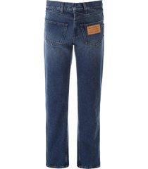 burberry five pocket jeans