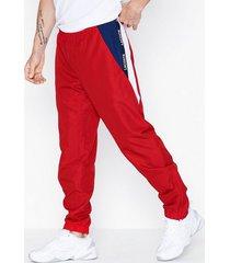 lacoste pantalon de survetement byxor röd