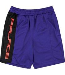 palace ritual track shorts - blue