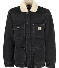 carhartt fairmuont padded denim jacket