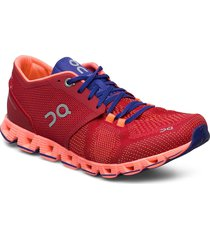 cloud x shoes sport shoes running shoes röd on