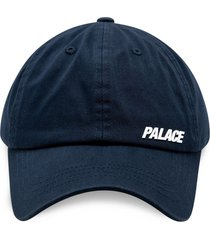 palace strap 6-panel cap - blue