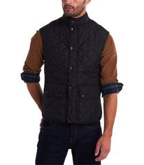 men's barbour lowerdale regular fit quilted vest, size x-large