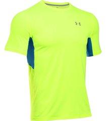 camiseta under armour ua coolswitch - verde manzana/azul