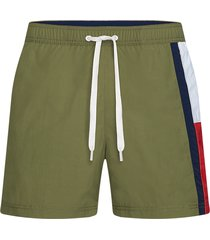 tommy hilfiger zwembroek medium drawstring - mash green