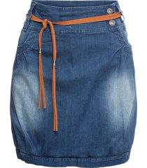 gonna di jeans con cintura (blu) - rainbow