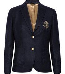delores flannel club blazer blazers casual blazers blauw morris lady