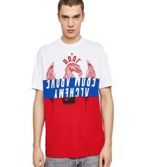 polera t just a1 t shirt multicolor diesel