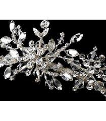 winter snowflake swarovski crystal rhinestone bridal wedding prom pageant tiara