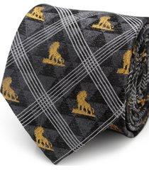 disney lion king pose men's tie