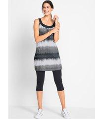 jurk en capri legging (2-dlg. set)