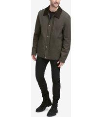 cole haan men's city rain barn coat
